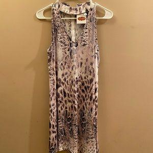 Lucy Rose Snakeskin Dress